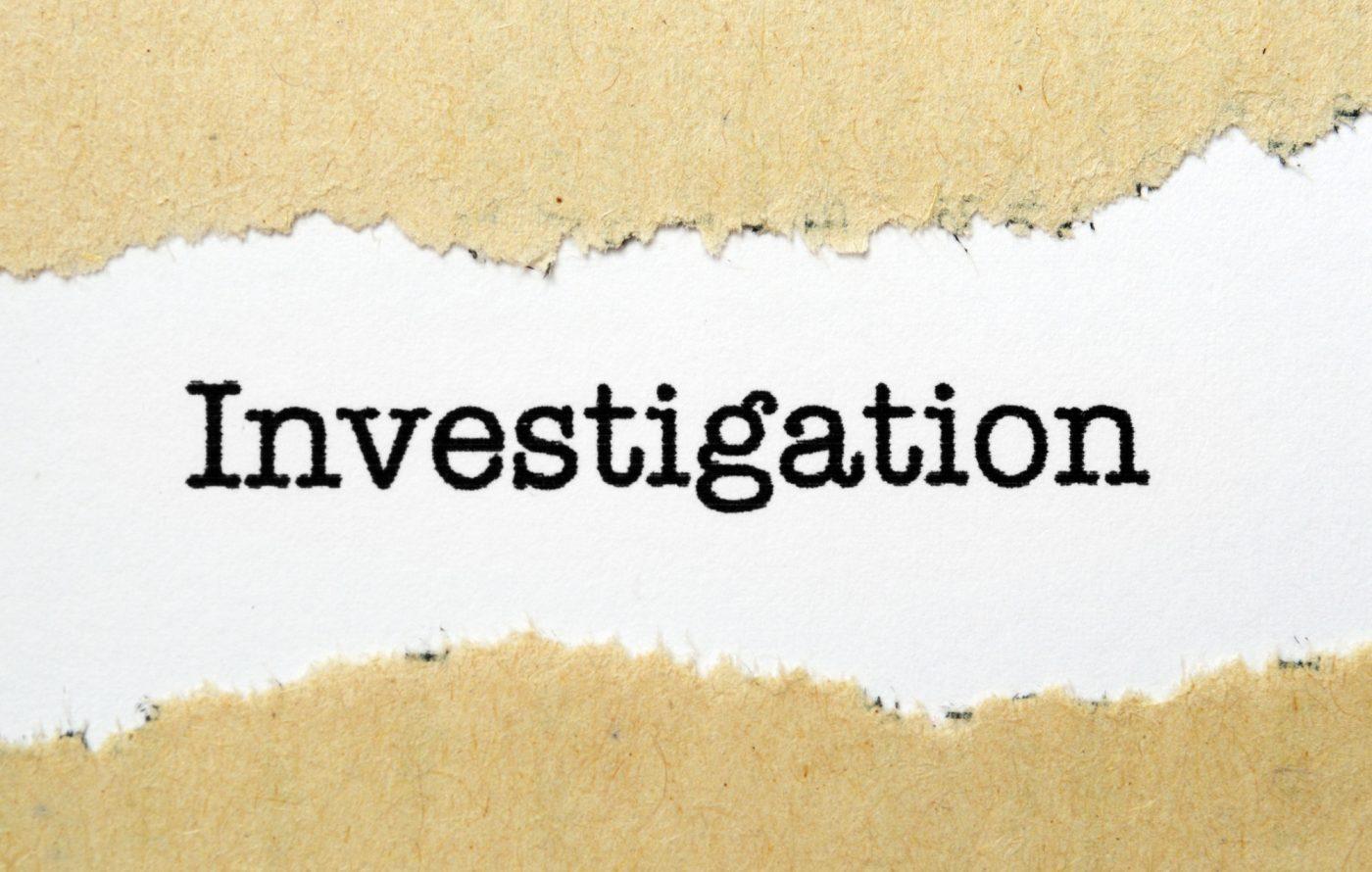 investigarea bunurilor unor persoane